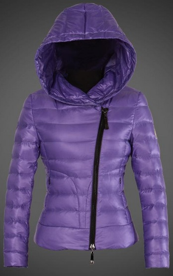 Moncler Ilay Hooded Jacket Lilac Wmns