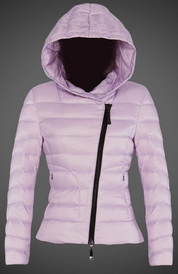 Moncler Ilay Hooded Jacket Light Pink Wmns