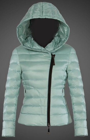 Moncler Ilay Hooded Jacket Turquoise Wmns