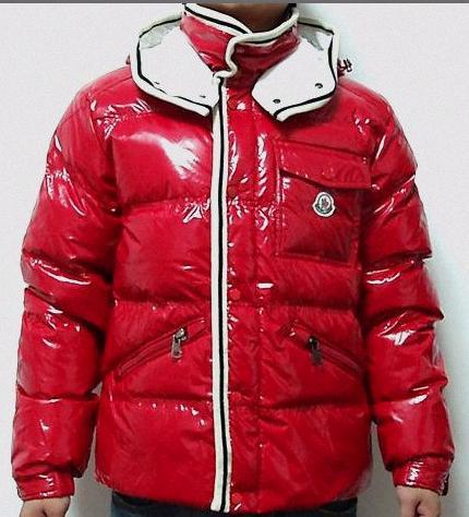 Moncler Branson Jacket Red Mens