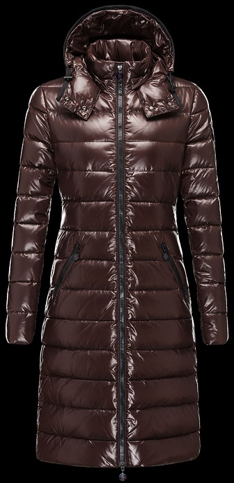 Moncler Moka Jacket Brown Wmns