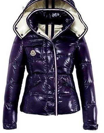 Moncler Quincy Jacket Glossy Purple Wmns