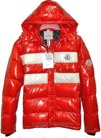 Moncler Thomas Jacket Red Mens