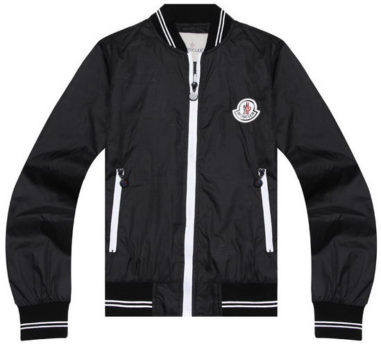 Moncler Wind Jacket Black Mens