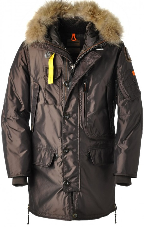 Parajumpers PJS Kodiak Parka Brown Mens