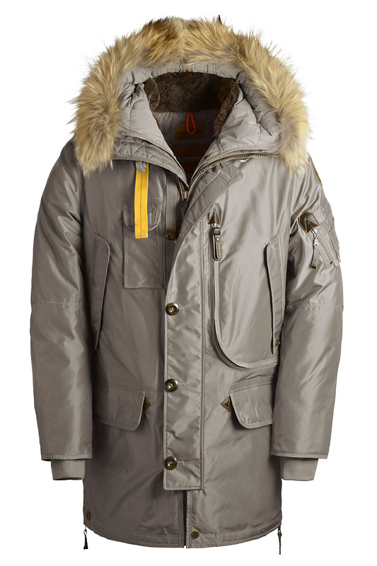 Parajumpers PJS Kodiak Parka Grey Mens