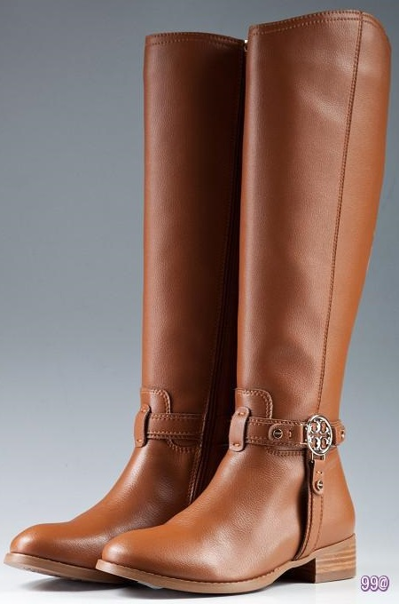 Tory Burch Flat Boots Brown
