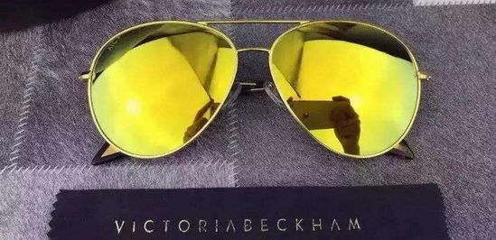 Victoria Beckham Sunglasses Yellow