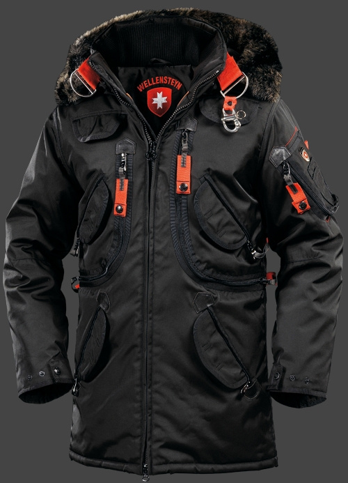 Wellensteyn Rescue Parka Black Mens