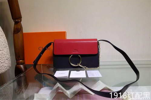 Chloe 1918 Red with Black Bag