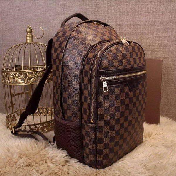 Louis Vuitton Michael Backpack Damier Brown